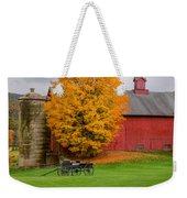 Country Wagon Square Weekender Tote Bag