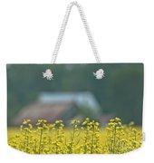 Country Yellow Weekender Tote Bag