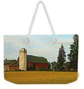 County Barn - Digital Painting Effect Weekender Tote Bag