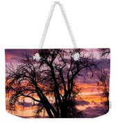 County Sunset Weekender Tote Bag