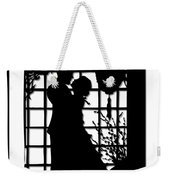 Couple In Love Silhouette Weekender Tote Bag