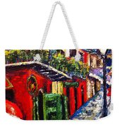 Couple In Pirate's Alley Weekender Tote Bag