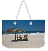Couple In The Shade Weekender Tote Bag