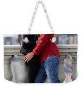 Couple Laughing Weekender Tote Bag