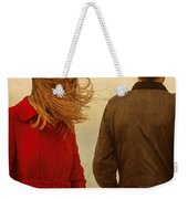 Couple With Relationship Problems Weekender Tote Bag