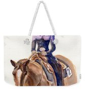Horse Painting Cowgirl Courage Weekender Tote Bag