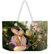 Couroupita Guianensis - Cannonball Tree Flowers Weekender Tote Bag