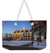 Court House In Winter Time Weekender Tote Bag