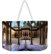 Court Of The Lions Weekender Tote Bag