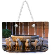 Court Of The Lions In The Alhambra Weekender Tote Bag