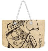 Courtesan For The Ninth Month Weekender Tote Bag