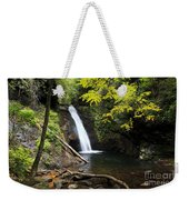 Courthouse Falls In North Carolina Weekender Tote Bag