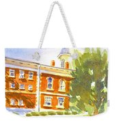 Courthouse In August Sun Weekender Tote Bag