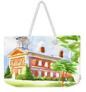 Courthouse In Summery Sun Weekender Tote Bag