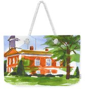 Courthouse On A Summers Evening Weekender Tote Bag