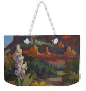 Courthouse Rock Sedona Weekender Tote Bag