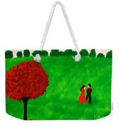 Courting Couple Weekender Tote Bag