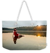 Courtney On The Water Weekender Tote Bag