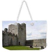 Courtyard Cahir Castle Weekender Tote Bag