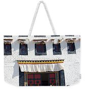 Courtyard Entry To Potala Palace In Lhasa-tibet Weekender Tote Bag