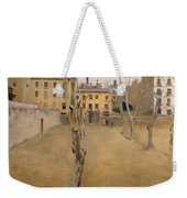 Courtyard Of The Old Barcelona Prison. Courtyard Of The Lambs Weekender Tote Bag