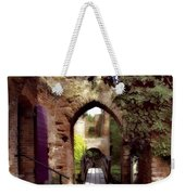 Courtyard Shadows Weekender Tote Bag