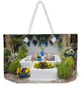 Courtyard With Washing Boards Weekender Tote Bag