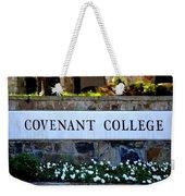 Covenant College Sign Weekender Tote Bag