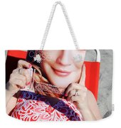Cover Girl Weekender Tote Bag