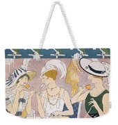 Cover Illustration From La Baionnette Weekender Tote Bag