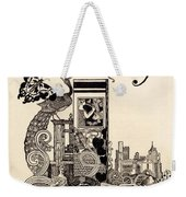 Cover Of The Butterfly Magazine Weekender Tote Bag