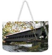 Covered Bridge Albany Weekender Tote Bag