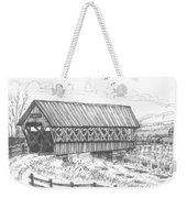 Covered Bridge Coventry Vermont Weekender Tote Bag