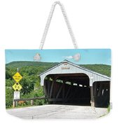 Covered Bridge For Pedestrians Weekender Tote Bag