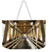 Covered Bridge Littleton New Hampshire Weekender Tote Bag