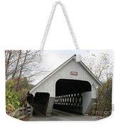 Covered Bridge - Woodstock Weekender Tote Bag