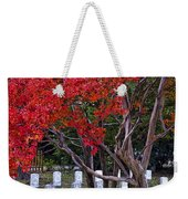 Covered In Fall Colors Weekender Tote Bag