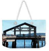 Covered Pier At Port Townsend Weekender Tote Bag
