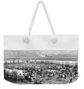 Covered Wagon Corral Weekender Tote Bag