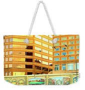 Covington Kentucky View From The Ferry Weekender Tote Bag