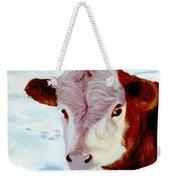 Cow A Bunga Weekender Tote Bag