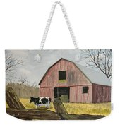 Cow And Barn Weekender Tote Bag by Norm Starks