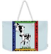 Cow Artist Cow Art II Weekender Tote Bag