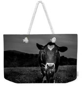 Cow Weekender Tote Bag by Bob Orsillo