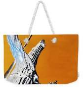 Cow Boy Inverted Weekender Tote Bag