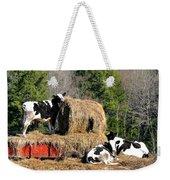 Cow Country Buffet Weekender Tote Bag