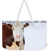 Cow - Fine Art Photography Print Weekender Tote Bag