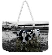 Cow Hugs Weekender Tote Bag