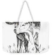 Cow In Pen And Ink Weekender Tote Bag