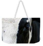 Cow Left Profile Weekender Tote Bag